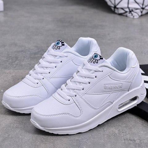 MWY Fashion Plus Size Air Cushion Shoes Ladies Platform Shoes Sneakers Women zapatillas mujer deportiva Casual Shoes Women Multan