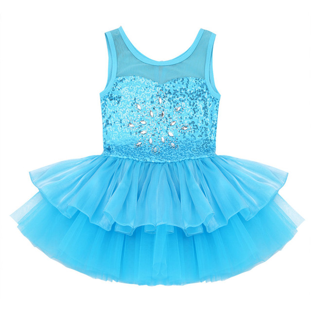 3df6eb819 3 10Y Ballet Dress Leotard Bow Tutu Dress Cute Children Clothes ...