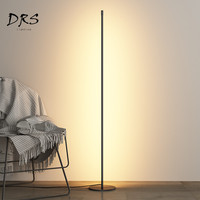 Modern Minimalist LED Floor Lamps Creative Standing Lamps for Living Room Led Black Metal Luminaria Standing Lamps Lamparas De
