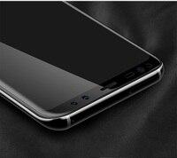 В 3D полное покрытие изогнутые закаленное стекло для samsung Галактика С8 экран протектор для С8 плюс защитный плёнки для С8 край примечание 8 стекло