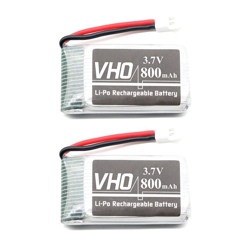 VHO 2 pz 3.7 V 800 mAh Battry Per Syma X5C X5SC X5SW M68 quattro assi aerei Modello 3.7 V 800 mAh Lipo batteria 902540