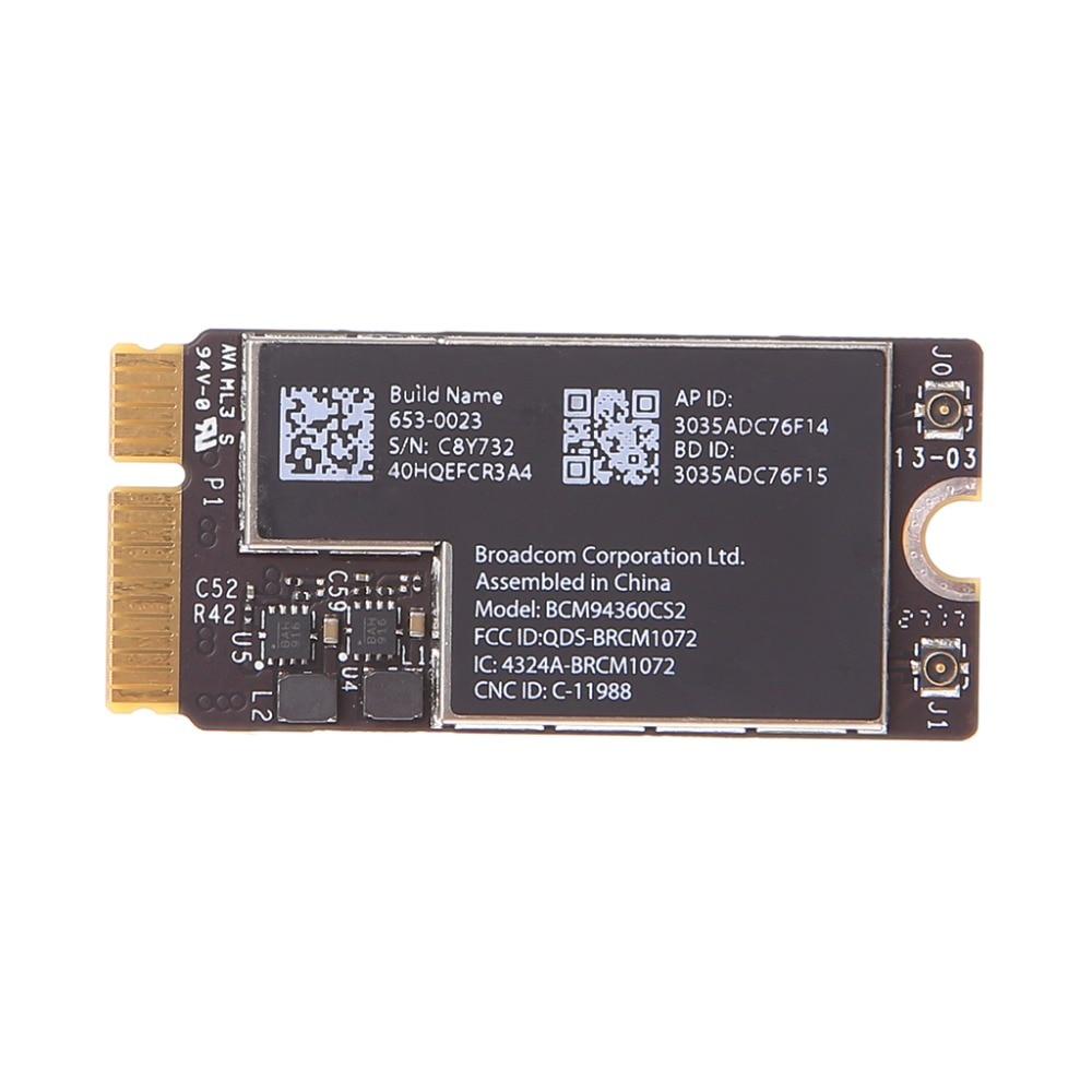 New Wireless-AC BCM94360CS2 Wifi Bluetooth Card For 13 Macbook Air A1465 MD760 / A1466 MD760 MD761 ноутбук apple macbook air 13 128gb md760 11
