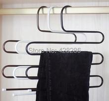 Wardrobe multi-layer hanging pants rack multifunctional hanger wardrobe slip-resistant trousers