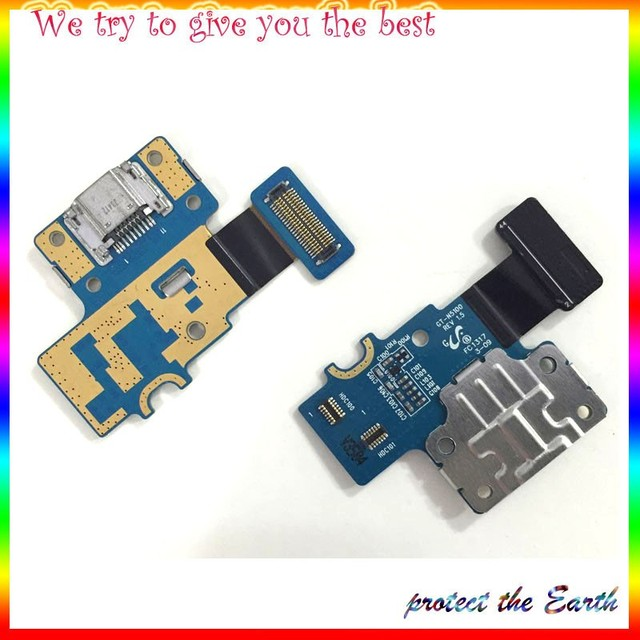 10pcs/lot  Micro Dock Connector Mobile Phone Flex Cables For Samsung Galaxy Note 8.0 N5100 N5110 USB Charger Port  Flex Cable