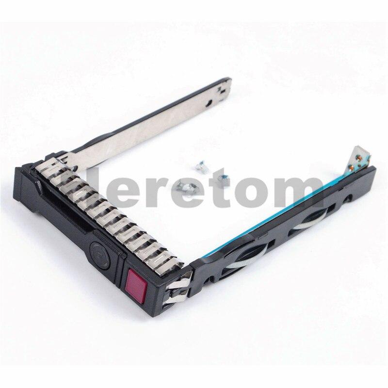 """Begeistert 2,5 """"hdd Tray 651687-001 Für Hp G8 Gen8 Gen9 G9 Dl380 Dl360 Dl160 Dl385 Festplatte Server Tablett"""