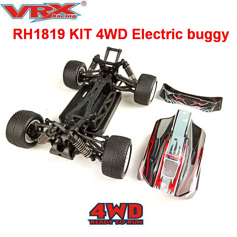 off road rc car VRX Racing RH1819 KIT 1 18 scale 4WD buggy without electronics Toys