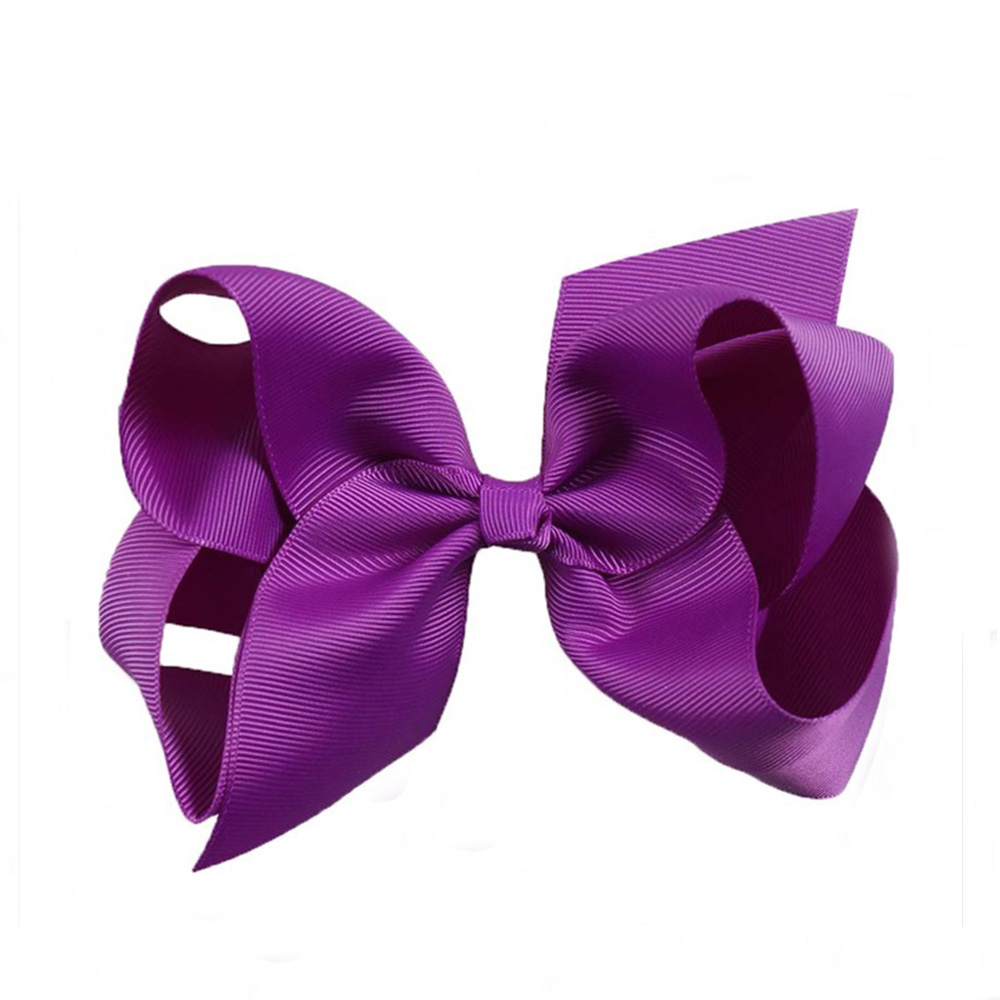Clothes, Shoes & Accessories Handmade 4 Inch Hair Clip Bow Lilac