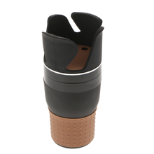 360 Degree Rotatable Adjustable Car Cup Holder Vehicle Bottle 5 In 1 Drink Holders Multifunction