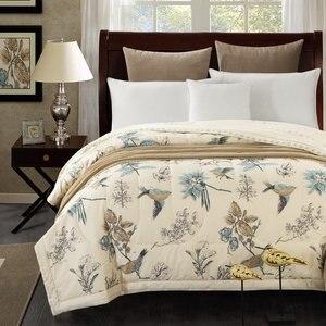 Duvet colcha/cobertor de verão  1 peça  adorável  pássaro  colcha de edredon/150x200cm e 200x cama de algodão 230cm cobertura 50
