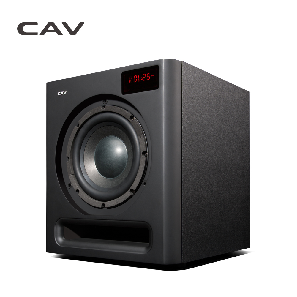 CAV SW580 2.4G Wireless Bluetooth Subwoofer 8-Inch Powered Subwoofers Speaker 3D Surround Sound Optical Coaxial AUX Speaker имп имп 580 240x16 g er2