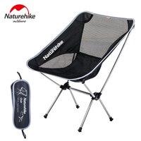 Naturehike Leichte Outdoor Kompakte Low Back Aluminium Folding Camping Stuhl Faltbare Picknick Stuhl Klappen Angeln Strand Stuhl-in Anglerstühle aus Sport und Unterhaltung bei