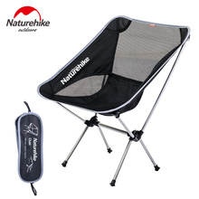 Naturehike Lightweight Outdoor Compact Low Back Aluminum Folding Camping Chair Foldable Picnic Fold Up Fishing Beach
