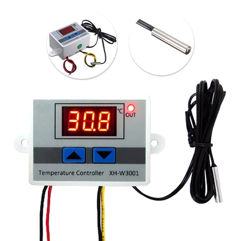 W3001 Digital Control Temperature Microcomputer Thermostat Switch Thermometer New Thermoregulator 220V