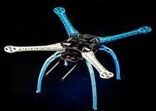 FPV S500 SK500 PCB/GF Доска Обновление версии F450 F550 Quadcopter кадров Комплект с посадка Шестерни Нескользящие