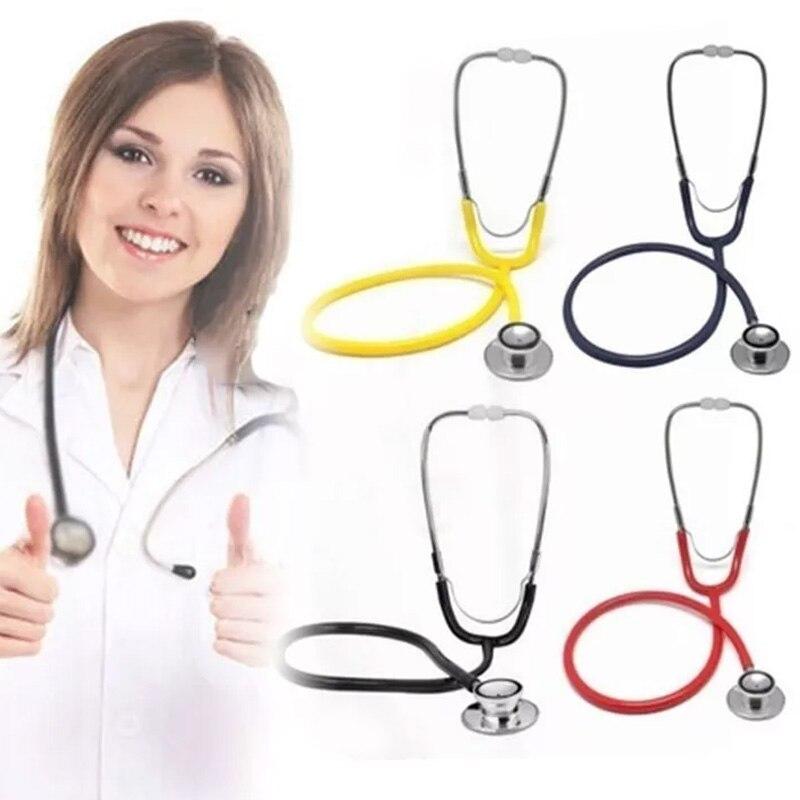 1 Pcs Professional Stethoscope Spirit Dual Head Stethoscope Medical Cardiology Double Phonendoscope Medical Equipment For Doctor