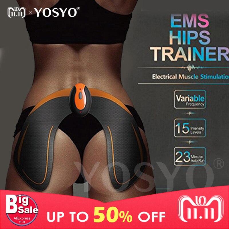 Inalámbrico EMS caderas entrenador remoto USB recargable músculo estimulador de tóner trasero tóner ayuda a levantar la forma y reafirmar el trasero
