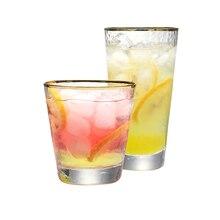 Набор из 2 9 унций 11 унций ручной работы выдувного бессвинцового стекла виски стекла mixied питьевой стакан для сока виски стаканы для воды