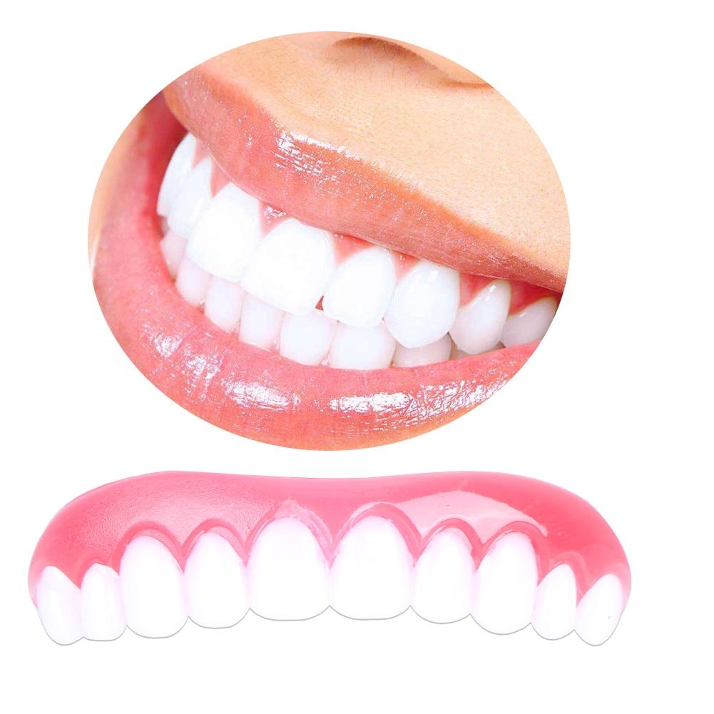 Book Cover White Teeth : Teeth whitening denture paste false upper cosmetic