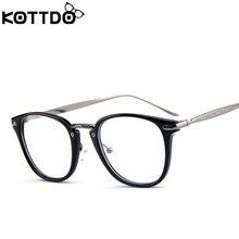 7ef634dc23 KOTTDO Eyeglasses Frames Women 2018 New Glasses Frame Retro Glasses Frame  Fashion Frame Flat Mirror Optical