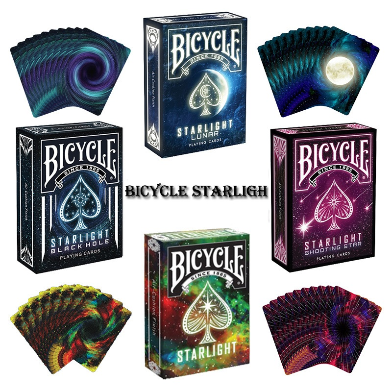 1pcs Bicycle Starlight Blackhole Deck Magic Cards Playing Card Poker - Juguetes clásicos - foto 1