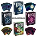1 set Bicycle Starlight Series Deck Playing Cards Magic Cards Poker Close Up Stage Magic Tricks for Professional Magician