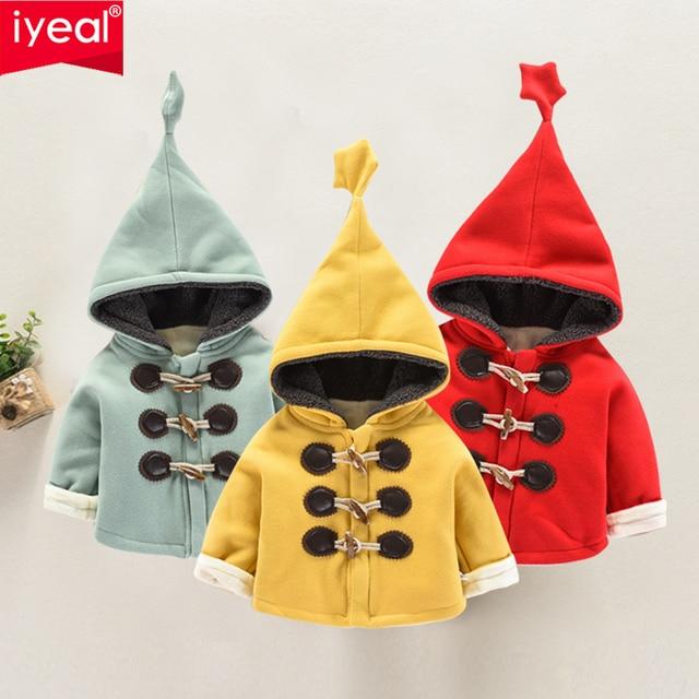 6a49c01eb4bf IYEAL Fashion Baby Girl Winter Coat Autumn Newborn Baby Girl Jackets ...