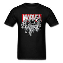 2018 New Mens 탑 T 셔츠 Marvel 가장 인기있는 Avengers Tshirt Master Infinity War T 셔츠 Super Hero Alliance Tshirt(China)