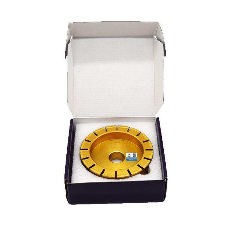 RIJILEI Mole diamantate per brasatura 140mm * 30mm per smerigliatrici - Utensili elettrici - Fotografia 6