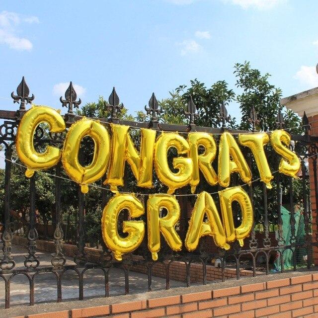 congrats grad class of 2019 graduation balloons banner
