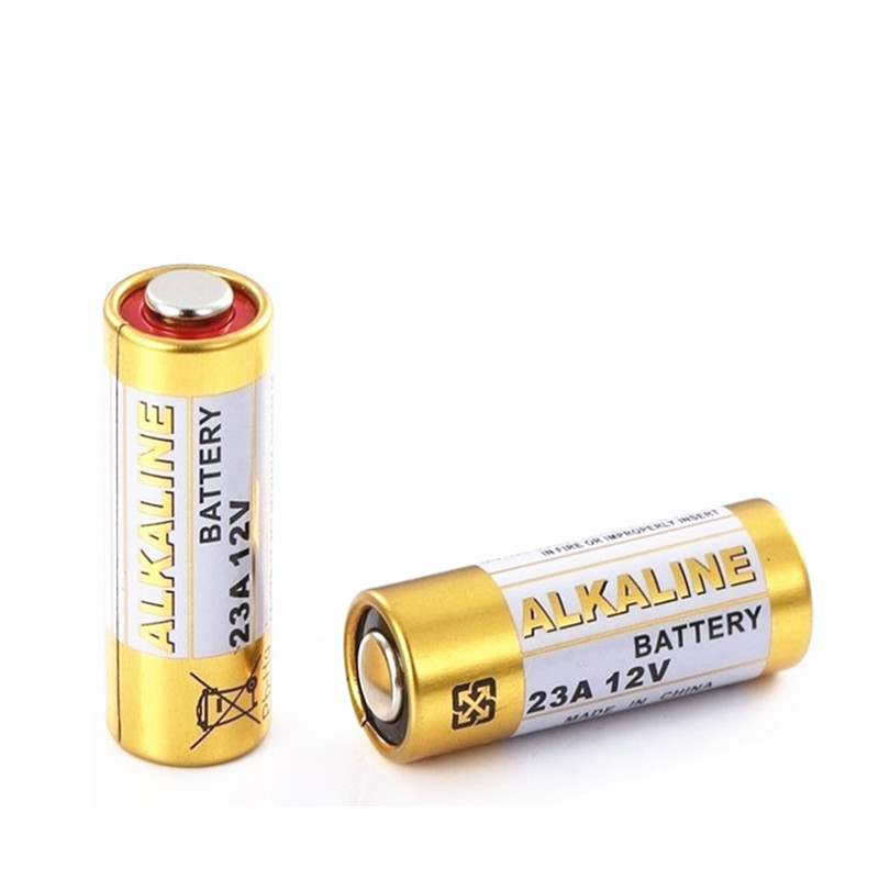 10pcs lot Alkaline Battery 23A 12 V 21 23 A23 E23A MN21 MS21 V23GA L1028 small Battery in Primary Dry Batteries from Consumer Electronics