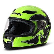 BYE Motorcycle Helmet Men Full Face Helmet Breathable Comfor