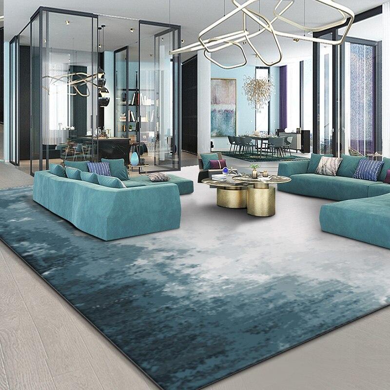 Tapis abstraits nordiques américains minimalistes pour le salon moderne tapis chambre tapis canapé Table basse tapis maison tapis de sol