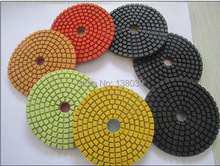 Good quality Wet  Diamond Polishing Pads 4 Inch Set Kit For Granite Concrete Marble Polish with velcro back