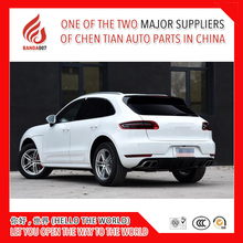 High quality Silver or black color Aluminium alloy decoration side rail bar roof rack for Macan
