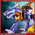 "BANDAI Tamashii Nações S. H. Figuarts (SHF) Exclusivo Action Figure-Metal Garurumon-Designer Original Edição-das ""Digimon"""