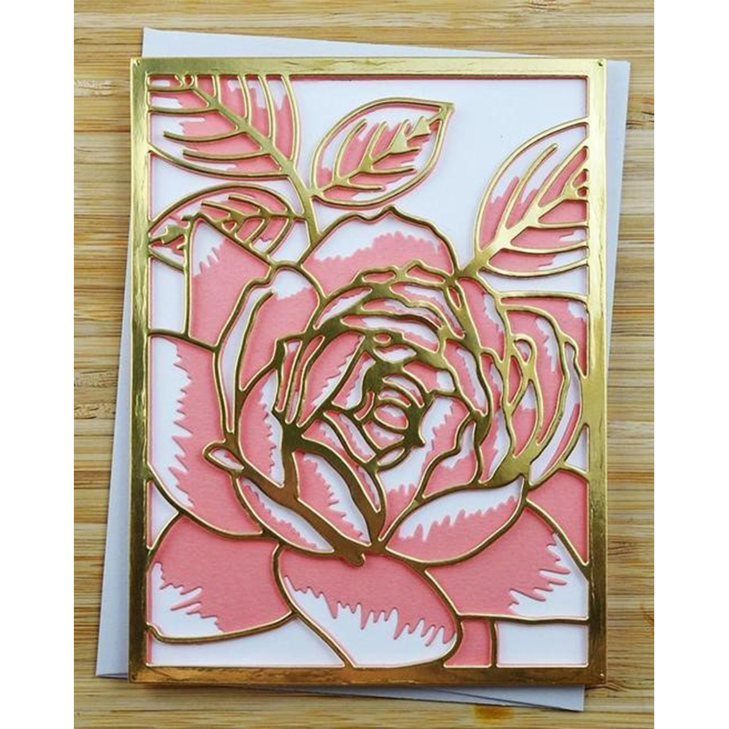 Results of top metal cutting dies flowers roses in hairstyle2018 rose flower layered metal cutting dies for scrapbooking embossing decorative crafts supplies diy paper cards new 2018 diecut mightylinksfo