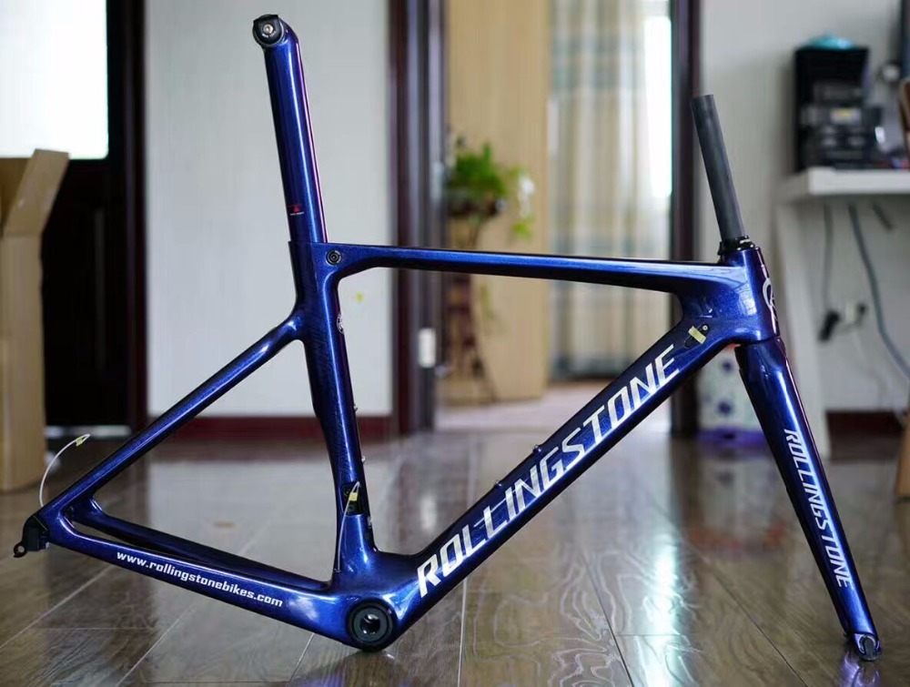 ROLLING STONE FINDER Road Carbon Frame set UCI approval Aero road ...