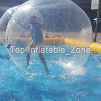 Free Shipping Top Quality 1.5m Water Walking Ball Giant Water Ball Zorb Ball Ballon Inflatable Water Zorb Ball For Game Dance