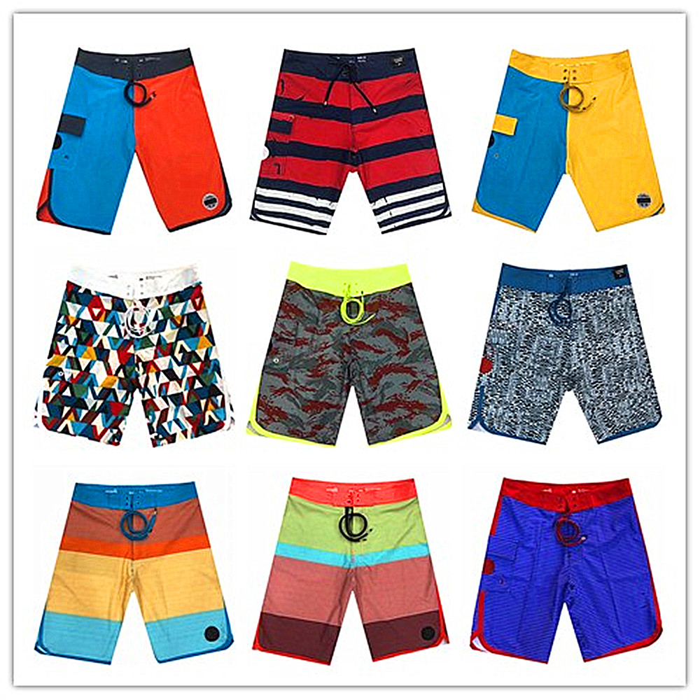 2019 New Arrivals Brand Fashion Beach   Board     Shorts   Men Swimwear Quick Dry Spandex Elastane Male Boardshorts Sexy Bathing   Shorts