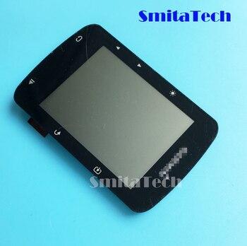 dcc60aa5c 2,4 pulgadas para Garmin Edge 520 lcd diaplay con pantalla de vidrio panel  completo bicicleta velocidad medidor GPS reparación reemplazo partes