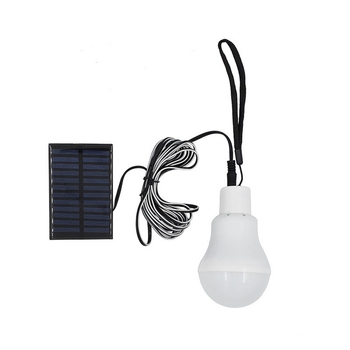 LEDS solar lamp With Remote Control Outdoor Camping White Solar Panel Lights Rechargeable leds