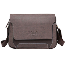 Men's Messenger Bag Causal Oxford Patchwork Handbags Man Crossbody Bags Polo Videng Briefcase for Men PU Leather Oxford