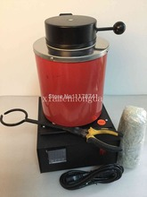 Free Shipping Jewelry Tools 2kg Gold Melting Machine Mini Oven Furnace