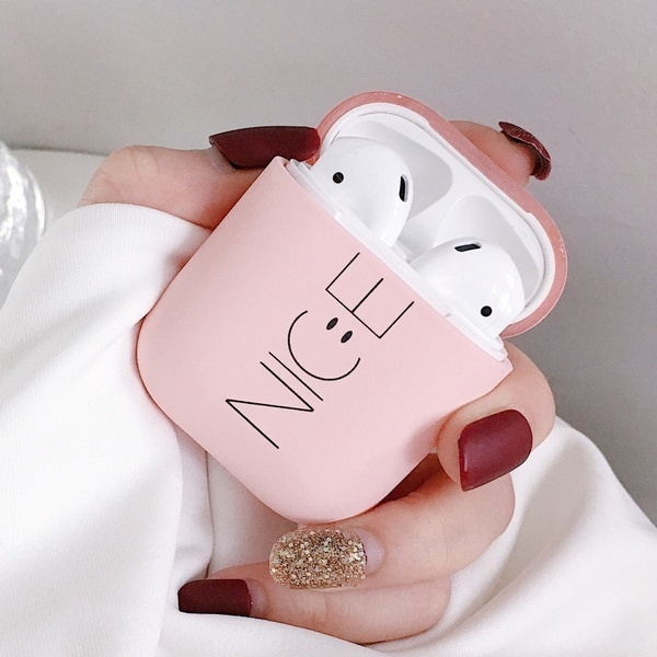 Hard-Protective-Case Case-Cover Airpods Bluetooth PC For Headphone Nice-Printed Fashion