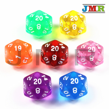 High Quality 7PCS TRPG D20 Dice for Dungeons & Dragons 20 Sided Games Dices 7 Colors Desktop Game Pieces for Dnd,rpg фото