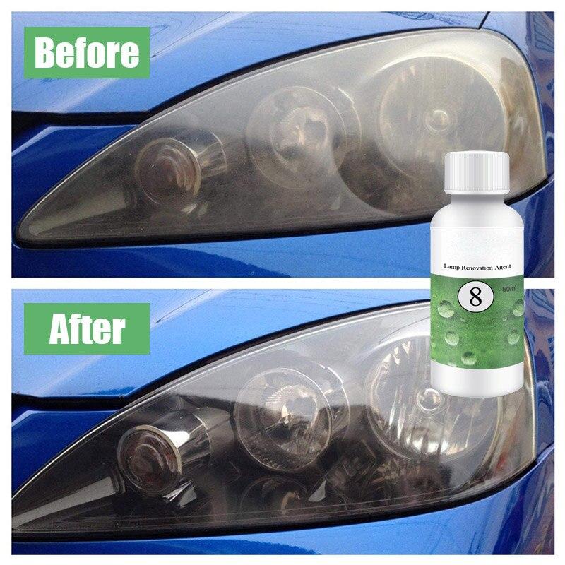 20 50ML Paint Care Car polish Car Lens Restoration Kit Headlight Brightening Headlight Repair Repairing Tool Car Styling in Grinding Polishing Paste Liquid from Automobiles Motorcycles