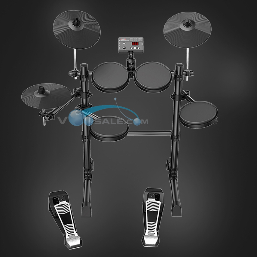 TDX-15 Electronic Drums Kit Simplified Control Panel Design 12 Drum Kits Sounds Easy Assembly Metronome Inside Good Quanlity-1
