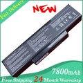 Hot + nova bateria 7800 mAh para ASUS K73 K73E K73J K73S K73SV N71 N71J N71V N73 N73F N73G N73J N73S N73V X77 X77J X77V