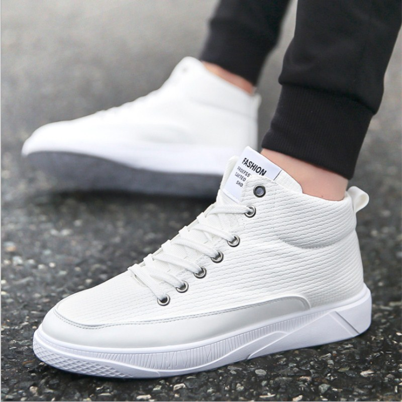Automne 2018 Hommes blanc bleu Laceing Sauvage Tendance De Simples Mode Beau Casual Nouvelle Et Plat D'hiver Noir Chaussures Haute top Vente Sdwxrd8q