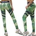 Más el Tamaño de Impresión Gótica Leggings Aptitud de Las Mujeres Ropa de Alta Elástico de La Cintura de Invierno Raya Entrenamiento Leggings Pantalones de Secado rápido Mujeres